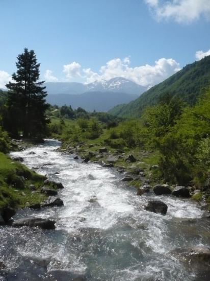 Le plateau de Sanchèze ...